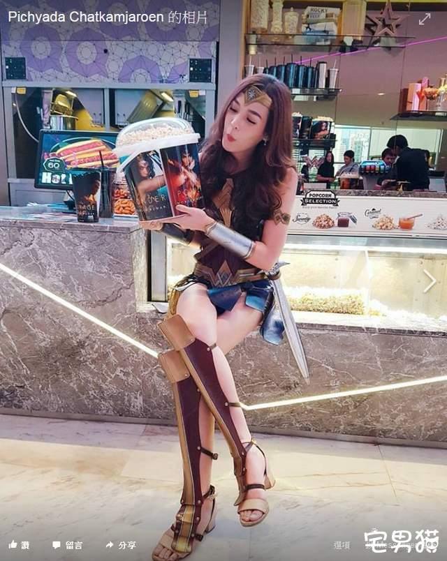 泰国版女超人r.pichya闪亮登场